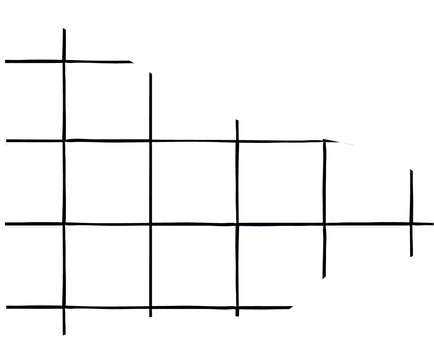 een decoratief randje dat lijkt op een stel tegeltjes