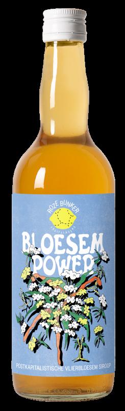 Bloesem Power vallende fles